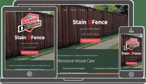 Stain DFence Website